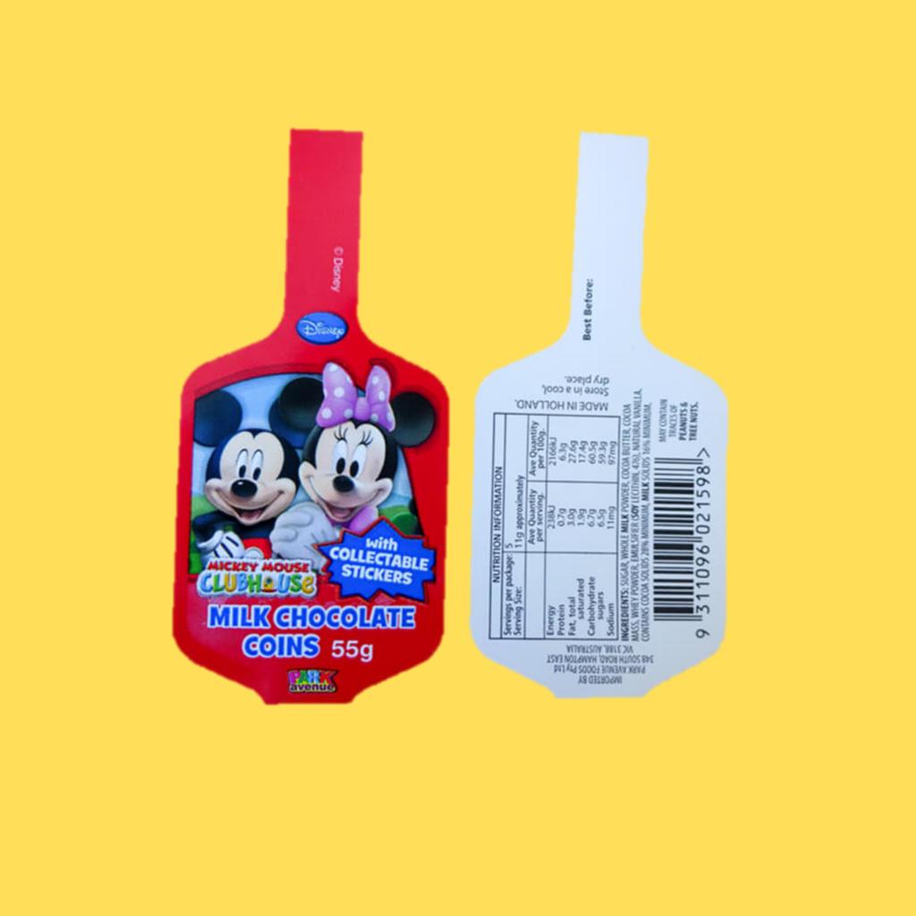 Custom Printed Labels - Wineglass