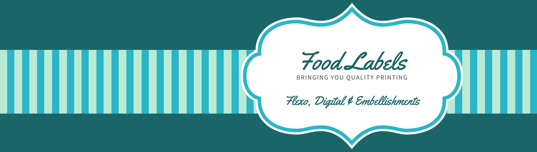 Food label banner