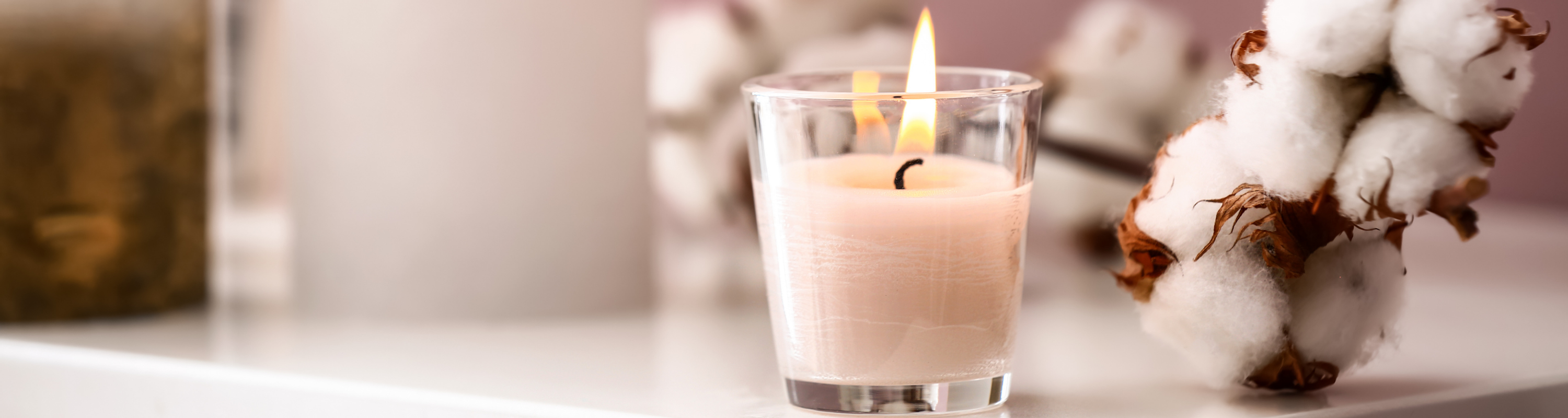 Candle Design Banner
