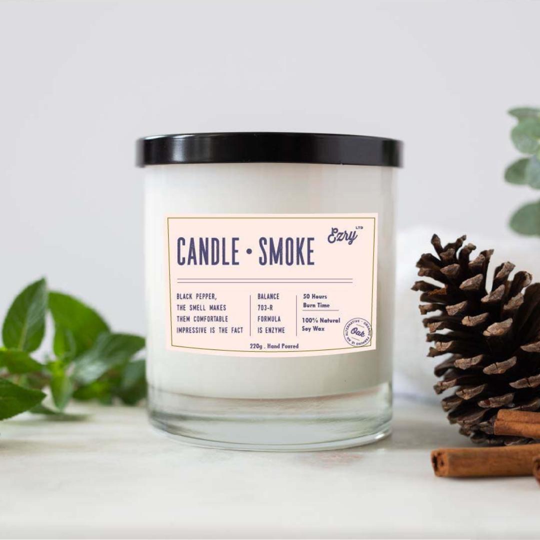 candle jar label